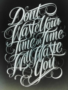 Mateusz Witczak / dont waste your time...